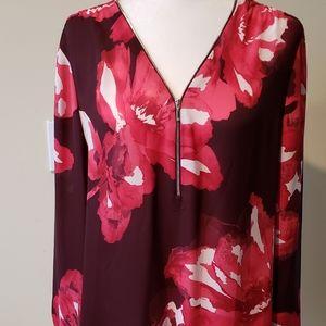 I.N.C floral blouse
